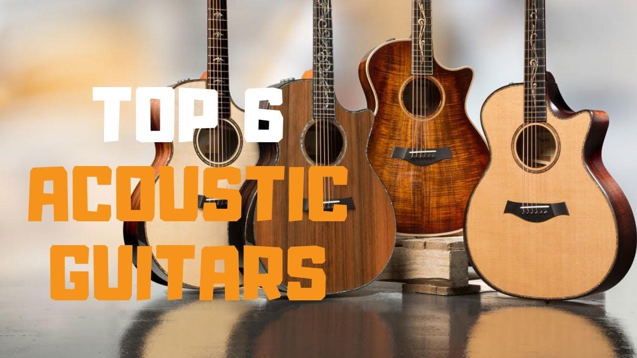 Best Acoustic Guitar in 2019 – Top 6 Acoustic Guitars Review
