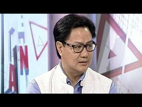 Government rethinking on special army powers  AFSPA - Kiren Rijiju to NDTV 30 August 2014 03 PM