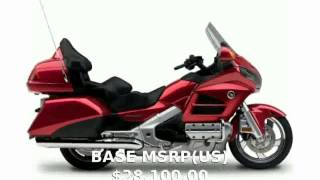 5. 2014 Honda Gold Wing Audio Comfort Navi XM ABS Features & Specs