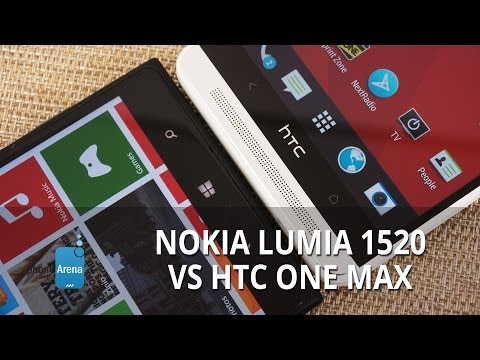 HTC - For more details, check out our web site: http://www.phonearena.com/reviews/Nokia-Lumia-1520-vs-HTC-One-Max_id3513 They're big, they're massive, and they're ...