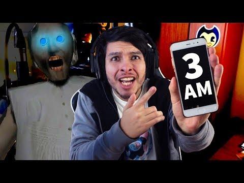 NUNCA JUEGUES GRANNY A LAS 3 AM !! *MUCHO TERROR* - Granny (Horror Game) (видео)