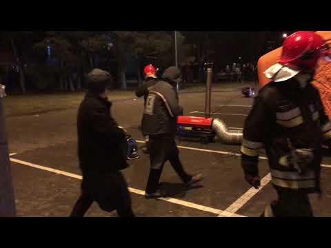 Wideo1: Alarm bombowy przy Kauflandzie