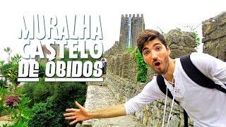 Obidos Portugal  City new picture : Conhecendo Óbidos, Portugal - Muralha Castelo de Óbidos - Vila Medieval | Hoje tô Aqui