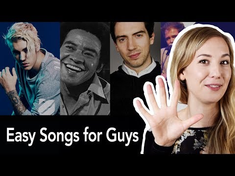 5 Easy Songs To Sing For Guys