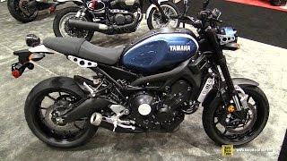 9. 2017 Yamaha XSR 900 - Walkaround - 2016 AIMEXpo Orlando