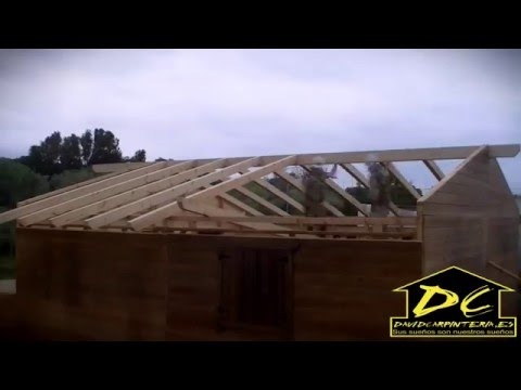 C mo hacer una casa de madera v deo david carpinter a - Como se construye una casa de madera ...