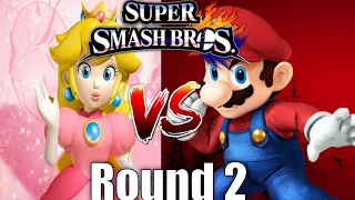 AMAZING PHOTO FINISH – Peach vs Mario SMASH
