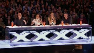 Demian Aditya Escape Artist Risks His Life During AGT Audition - America's Got Talent 2017☞DISCLAIMER: I do not own this video, all rights belong to... Thank you for letting me upload your videos without blocking.