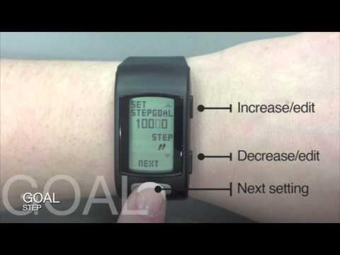 LifeTrak Core C200 & Move C300 - Setting Goals