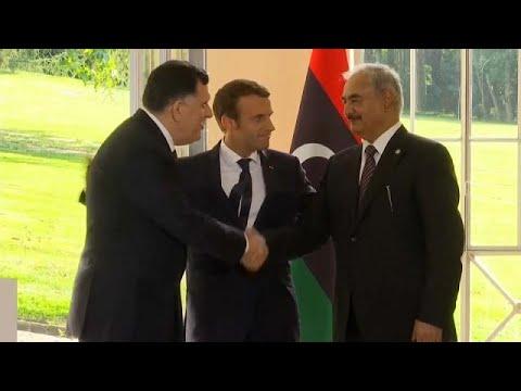 Μακρόν: Πρωτοβουλία για να βρεθεί λύση στη Λιβύη