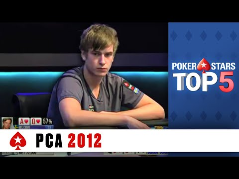 poker - http://PokerStars.com The World's best poker players turned out for PCA 2012. Check out our favourite hands from the festival featuring Blom, Duhamel, Jaka, ...