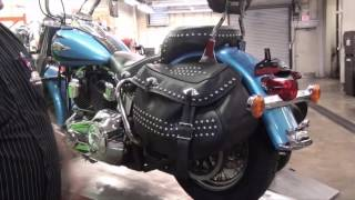 10. How to fix your worn looking Harley Davidson Heritage Softail saddle bags.