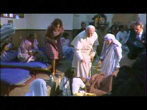 papa wojtyla e madre teresa: grandi santi. la bellezza del loro incontro