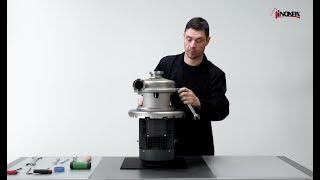 Výměna – jednoduché mechanické ucpávky. Odstředivé čerpadlo PROLAC HCP