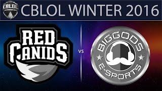 RED vs BG, game 1