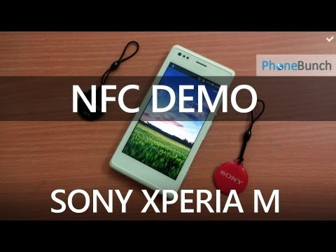 how to nfc sony