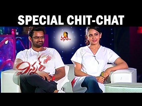 Winner Movie Team Chit chat    Sai Dharam Tej, Rakul Preet Singh