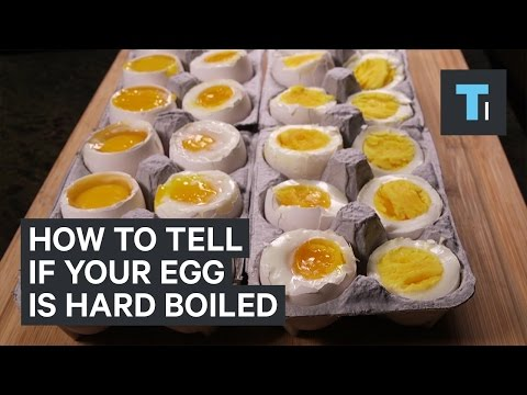 Clever Science Trick for Boiled Eggs