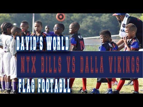 MYE Sports-  FLAG  NTX BILLS VS DALLAS VIKINGS (видео)