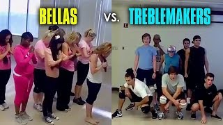 Video Bellas & Treblemakers Rehearsal Footage from Pitch Perfect [Full] MP3, 3GP, MP4, WEBM, AVI, FLV Mei 2018