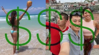 CUBA 2017- How much it costs to go to HAVANA for 5 days   Watch my video about how I got my visa and other tips here.