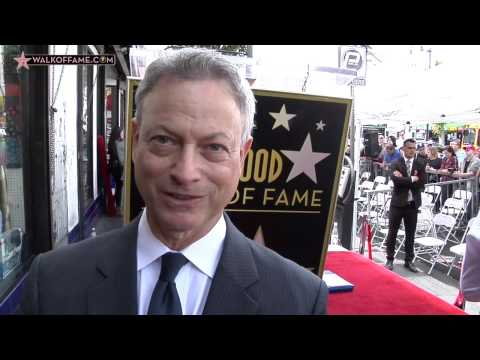 Gary Sinise Walk of Fame Ceremony