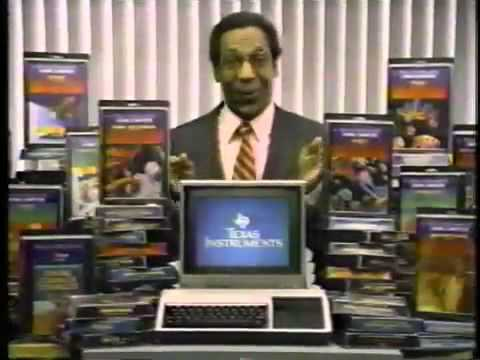 Texas Instruments TI-99/4a commercial feat. Bill Cosby