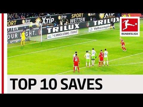 Best Penalty Saves 2017/18 - Ulreich, Fährmann, Zieler & More (видео)