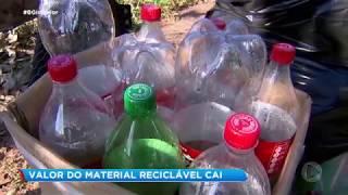 Catadores de recicláveis enfrentam dificuldades na pandemia