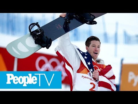 Shaun White Cries Tears Of Joy As He Wins Record-Breaking 3rd Olympic Gold In Halfpipe | PeopleTV