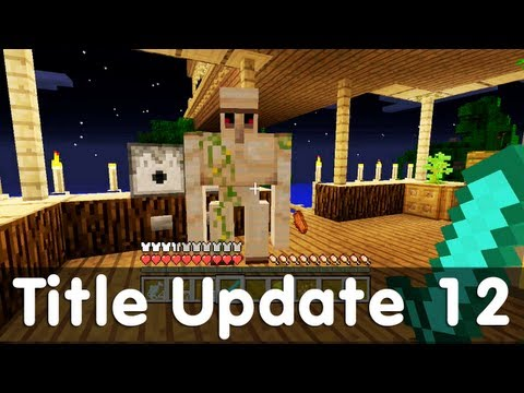 xbox360 - Welcome to a special video in which I will be showing all of the new additions that were added to the Xbox 360 Edition of Minecraft in Title Update 12. Full ...