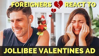 Video Foreigners react to JOLLIBEE VALENTINES advertisement 2019 Kwentong MP3, 3GP, MP4, WEBM, AVI, FLV Februari 2019