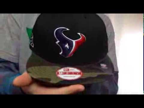 Texans 'NFL CAMO-BRIM SNAPBACK' Adjustable Hat by New Era