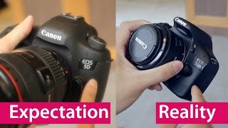 Video Expectation vs Reality: Buying Your First DSLR MP3, 3GP, MP4, WEBM, AVI, FLV Juli 2018