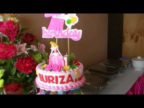 Euriza's 1st Birthday Party part 3 The Food