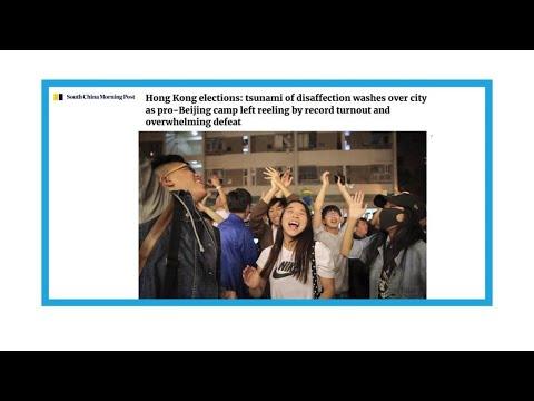 """""""Tsunami pro-démocratie à Hong-Kong"""""""