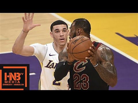 Cleveland Cavaliers vs Los Angeles Lakers Full Game Highlights / March 11 / 2017-18 NBA Season (видео)
