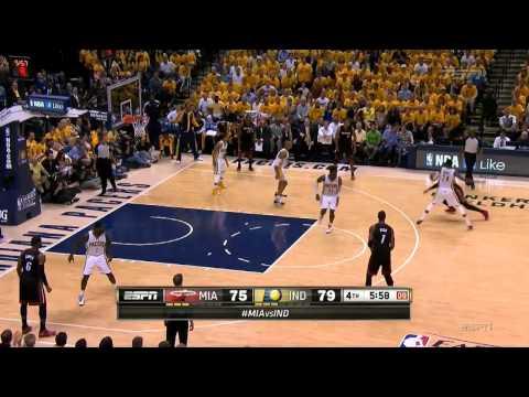 NBA 2014季後賽G5,喬治37分全剪輯影片