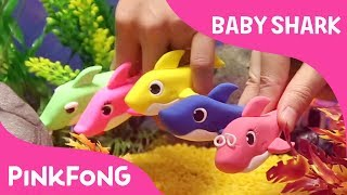 Video Clay Baby Shark | Pinkfong Clay | Animal Songs | Pinkfong Songs for Children MP3, 3GP, MP4, WEBM, AVI, FLV September 2018