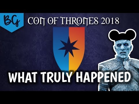 Con of Thrones 2018 Vlog - What really happened o_o