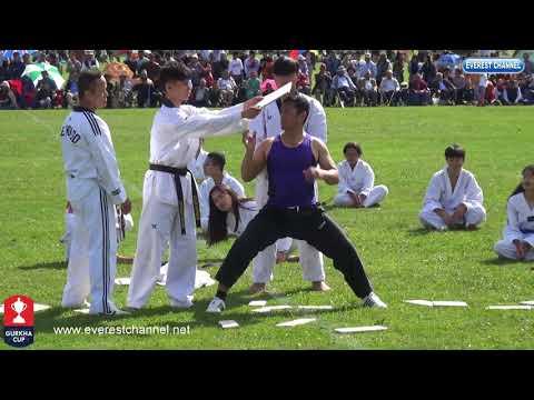 (Gurkha Cup 2018 lll Martial Art display - Duration: 12 minutes.)