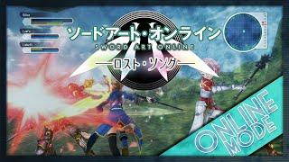 Sword Art Online: Lost Song (Vita/PS3) Has ONLINE MODE!   New Trailer!