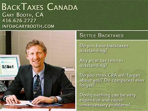 P1 Income Tax Preparation Services in Toronto | backtaxescanada.ca