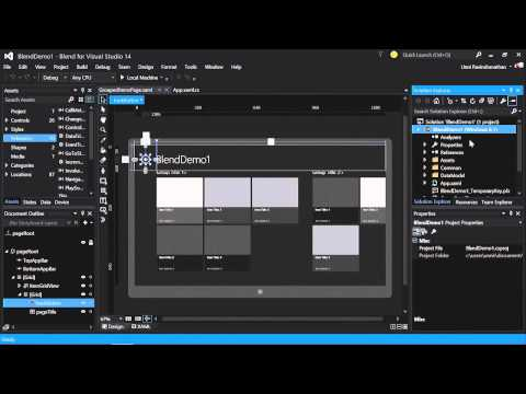 Blend For Visual Studio 2015 Tutorial   Introduction