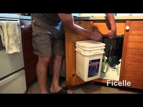 Bricolage  - Poubelle de cuisine à ouverture automatique