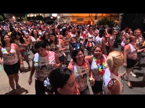 Desfile do Bloco As Incansáveis em Goiana PE, gravado pelo Blog do Anderson Pereira