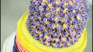How to make a BUTTERCREAM HYDRANGEA CAKE by Cakes StepbyStepMore buttercream decorating videos from Cakes StepbyStep channel:How To Make a Disney SNOW WHITE Cake - Pastel BLANCANIEVES by CakesStepbyStephttps://youtu.be/kZ-m7yYVNxMROSE Petal Ombre Cake - Buttercream Decorating by CakesStepbyStephttps://youtu.be/uioEAe75EVQButtercream Cake Decorating Fast and Easy to make by CakesStepbyStep.https://youtu.be/EFdlnRjlqBk*To stay up to date with my latest videos, make sure to SUBSCRIBE to this YouTube channel (if you are not).*To find out more about the items I use, please visit: http://www.cakesstepbystep.com/*You can support this channel by sharing my videos. Thank you!*****************FOLLOW ME********************FACEBOOK     https://www.facebook.com/cakesstepbystep/*INSTAGRAM  http://instagram.com/cakesstepbystep/*PINTEREST    http://www.pinterest.com/cakesstepbystep/*TWITTER        https://twitter.com/CakesStepByStep/CakesStepbyStep is about cakes and cupcakes decorating with fondant and buttercream frosting. Also you can watch simple chocolate decoration techniques and cake recipes. Learn with me basic cake decoration techniques which will help you to decórate your own cake masterpiece. HAVE FUN! Music from Youtube Audio Library
