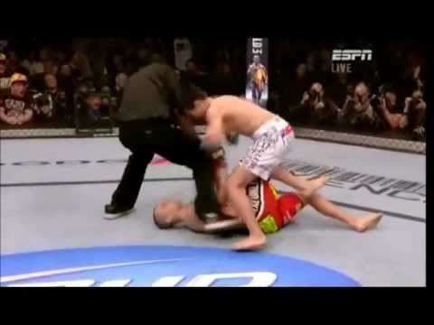 UFC 140 Mark Hominick vs. Chan Sung Jung - One of the Fastest KOs in UFC History