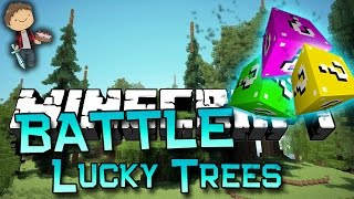 Minecraft: LUCKY BLOCK TREES MOD 1vs1vs1 BATTLE! Modded Mini-Game w/Mitch&Friends!