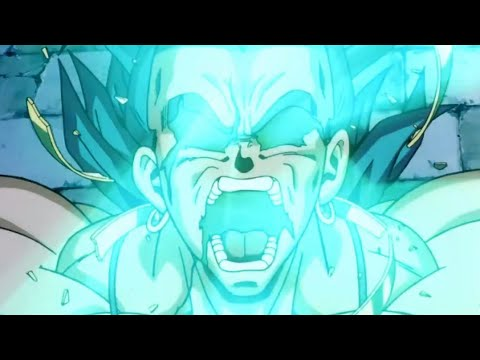Broly's Legendary Super Saiyan Transformation